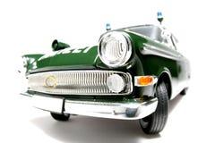 1961 policía alemana de Opel Kapitän escala el fisheye #4 del coche Fotografía de archivo libre de regalías