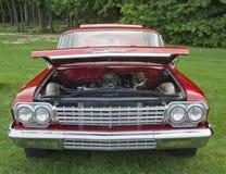 1962年Chevy Biscayne前面 库存图片