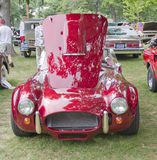 1962 AC眼镜蛇跑车正面图 免版税库存照片