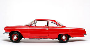 1962 Chevrolet Belair Metal Scale Toy Car 3 Stock Photo