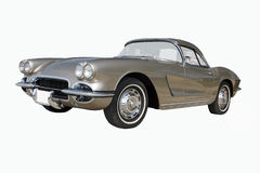 1962 Chevrolet Corvette Coupe. An all original 1962 Chevrolet Corvette coupe. Champagne Beige exterior. This color is also known as Fawn Beige. A nice example of stock image