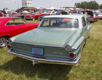 1962 Green Dodge Dart Rear View Royalty Free Stock Images