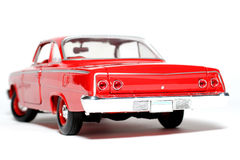 1962 het stuk speelgoed van de het metaalschaal van Chevrolet Belair autorug Stock Afbeeldingen