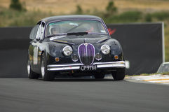 1962 Jaguar 3.8 MkII  race car Stock Photography