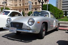 1962 Lancia Appia GTE Zagato Stock Photo