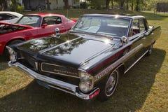 1963 schwarzer Pontiac Bonneville Lizenzfreies Stockbild
