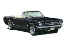 1964 μάστανγκ Coupe της Ford Στοκ φωτογραφίες με δικαίωμα ελεύθερης χρήσης