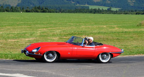 1964 e捷豹汽车类型 免版税库存图片
