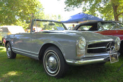 1964 Mercedes Benz 230 SL convertible Royalty Free Stock Photography
