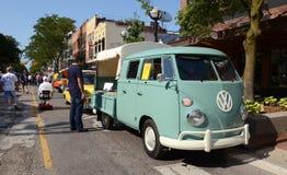 1964 oogst van de Cabine van Volkswagen de Dubbele Royalty-vrije Stock Afbeelding