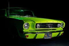 1965 de Mustang van de Doorwaadbare plaats Stock Fotografie