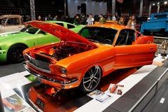 1965年fasback Ford Mustang 库存照片
