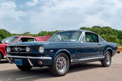 1965 Ford Mustang GT Fastback Royalty Free Stock Photography