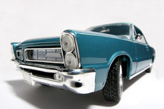 1965 Pontiac GTO metal scale toy car fisheye #2 Stock Images