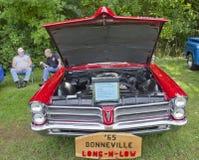 1965 Pontica Bonneville Royalty Free Stock Photography