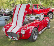 1965 Red White Ford AC Cobra Royalty Free Stock Images
