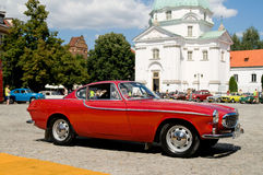 1965 Volvo P1800 S. WARSAW - JULY 7: 1965 Volvo P1800 S on Car Competition during XXXIth Warsaw Antique Car Rally. July 7, 2008 in Warsaw, Poland royalty free stock images