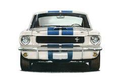 1965年福特GT350 Shelby野马小轿车 免版税图库摄影