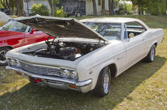 1966年Chevy飞羚 免版税图库摄影