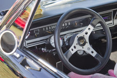 1966 Ford Fairlane Interior Royalty Free Stock Images