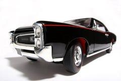 1966 het stuk speelgoed van de het metaalschaal van Pontiac GTO auto fisheye Royalty-vrije Stock Afbeelding