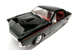 1966 het stuk speelgoed van de het metaalschaal van Pontiac GTO auto fisheye #5 Royalty-vrije Stock Foto's
