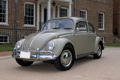 1966 Volkswagen Beetle. This is a picture of my fathers 1966 VW Beetle Royalty Free Stock Image