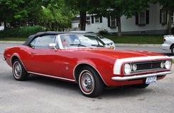 1967古色古香的camaro汽车薛佛列汽车 免版税库存图片