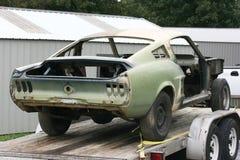 1967年fastback野马重建 免版税图库摄影