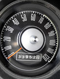 1967 Ford Mustang speedometer Stock Photography