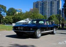 1967年Shelby GT500 Ford Mustang 免版税图库摄影