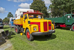 1967 truck scania vabis (swedish) Royalty Free Stock Photos
