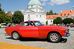1967 VOLVO P1800 SPORT. WARSAW - JULY 7: 1967 Volvo P1800 Sport on Car Competition during XXXIth Warsaw Antique Car Rally. July 7, 2008 in Warsaw, Poland Stock Photos