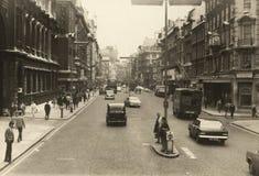 1968年伦敦夏天 库存照片