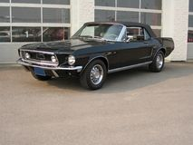 1968 Ford Mustang Convertible Royalty Free Stock Photo