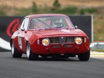 1969年阿尔法gta guilia motorsport罗密欧 免版税图库摄影