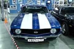 1969年camaro薛佛列汽车 库存照片
