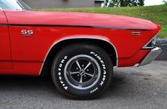 1969年Chevy Chevelle SS 免版税库存图片