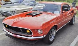 1969 de Mustang van de Doorwaadbare plaats Stock Afbeeldingen