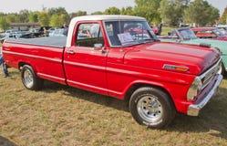 1969 F100 van Ford de Vrachtwagen van de Boswachter Royalty-vrije Stock Afbeeldingen