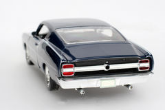 1969 Ford Torino Talladega metal scale toy car #4. Picture of a 1969 Ford Torino Talladega. Detailed scale model from my brothers toy collection Royalty Free Stock Photography