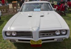 1969 het vooraanzicht van Pontiac GTO Stock Fotografie