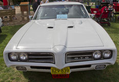 1969 Pontiac GTO front view Stock Photography