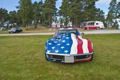 1970年Chevrolet Corvette黄貂鱼 免版税库存图片