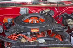 1970 de motor van Plymouth Cuda Royalty-vrije Stock Afbeeldingen