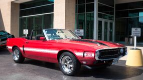 1970 Ford Shelby GT350 Convertible Royalty Free Stock Photos