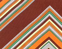 1970 retro fabric. Colorful 1970 retro fabric textured Royalty Free Stock Photography