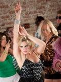 1970s disco music party Στοκ εικόνες με δικαίωμα ελεύθερης χρήσης