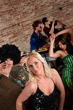 1970s Disco Music Party Royalty Free Stock Photo