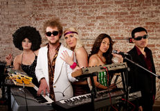 1970s Disco Music Party royalty free stock images